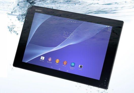 Sony Xperia z2 tablet: resistente al agua