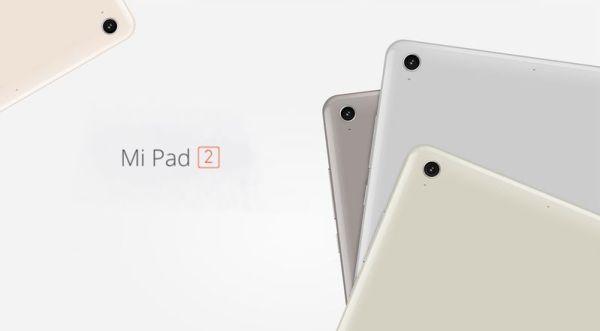 Colores Xiaomi Mi Pad 2