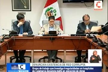 denuncian red corrupcion cajamarca