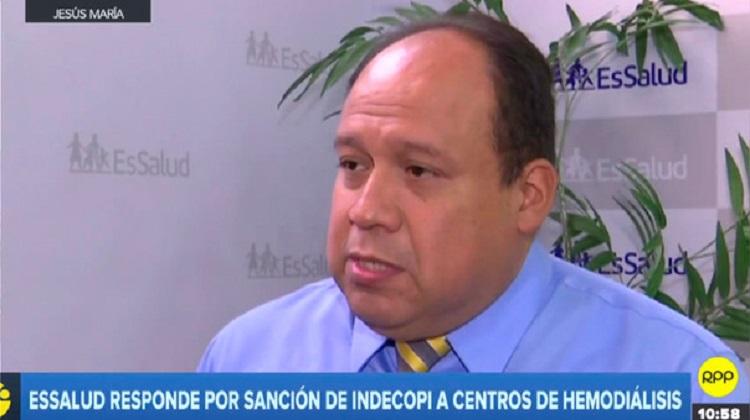 EsSalud pedirá una indemnización a los centros de hemodiálisis sancionados por Indecopi