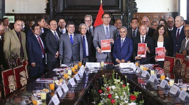 Perú logrará su desarrollo si combate a la corrupción