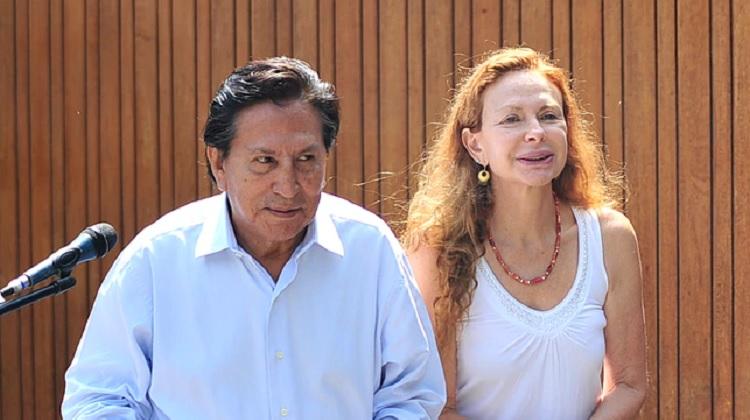 Alejandro Toledo: Eliane Karp tendría cerca de un millón de dólares en cuenta bancaria