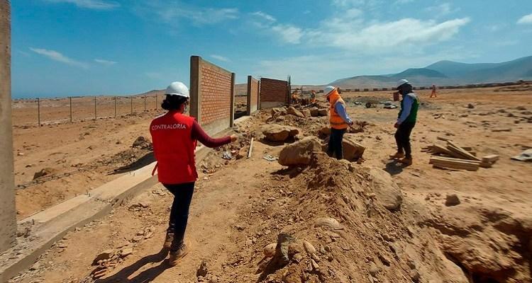 Arequipa: detectan ausencia de profesionales en obras de cementerio en Islay