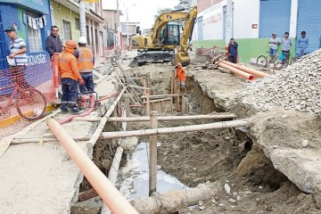 Piura: alcalde pide acelerar proyecto de agua y alcantarillado para Catacaos