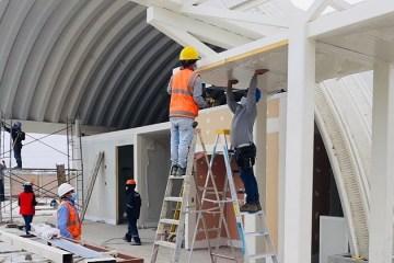 Ica acelera construcción del primer hospital modular del Perú y estará listo en julio