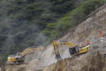 La Libertad: destacan avances en construcción de la carretera Calemar-Abra El Naranjillo