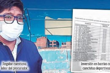 Regidor asegura que procurador municipal hace perder procesos