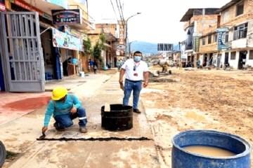 Contraloría alerta deficiencias en la renovación de tuberías de agua potable en Moyobamba