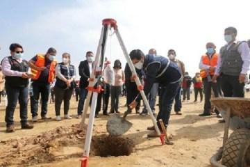Inició la construcción del nuevo hospital de Huarmey, en Áncash