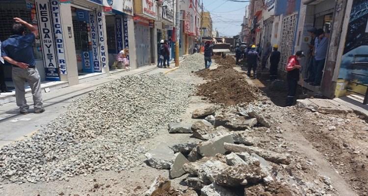 Alertan que obra peatonal en Chiclayo empeoraría caos vehicular