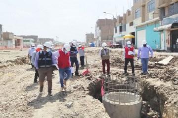 Chiclayo: siguen irregularidades en obra de avenida Mariano Cornejo de JLO
