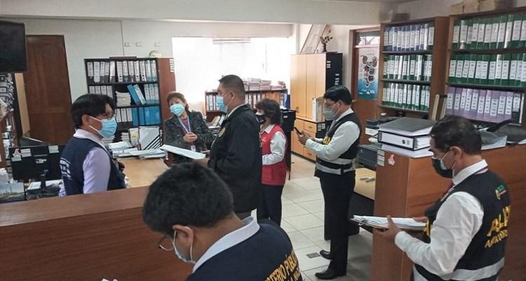 Fiscalía y Contraloría intervienen Gobierno Regional de Arequipa por caso Jardín del Colca