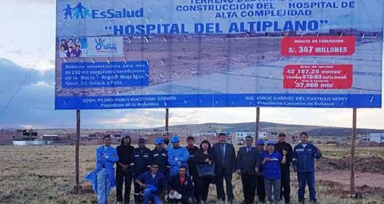 Hospital del Altiplano a merced de empresa china que tiene paralizada obra del HMNB