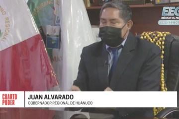 Las serias denuncias contra el gobernador regional de Huánuco Juan Alvarado