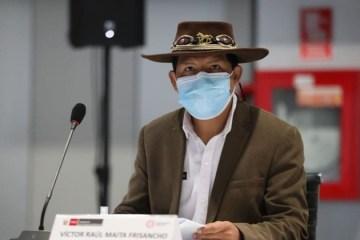 Ministro Víctor Maita anuncia paquete de S/ 1,400 millones para reactivar agro