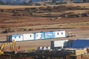 MTC: continúa ejecución del Aeropuerto Internacional de Chinchero de Cusco