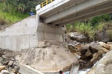 Cajamarca: identifican responsabilidad civil en funcionarios por irregularidades en puente San Pedro