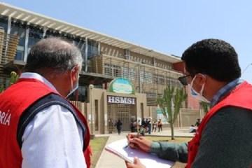 Contraloría advierte situaciones adversas en hospital Santa María del Socorro en Ica