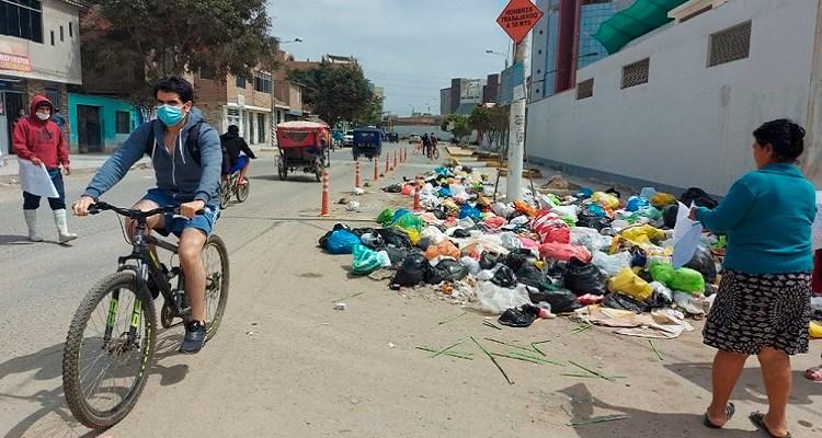 Colegio de Ingenieros exigió a Municipalidad de Chiclayo paralizar obra peatonal y ciclovías