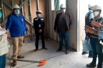 Municipio de Huanta aún no hace entrega de planta oxígeno