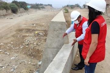 Trujillo: construcción irregular de avenida y muro de contención ocasionó perjuicio por más de S/ 225 mil