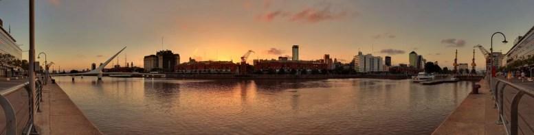 O que fazer em Buenos Aires - Pôr do sol Puerto Madero