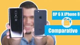 OnePlus 6 vs iPhone 8