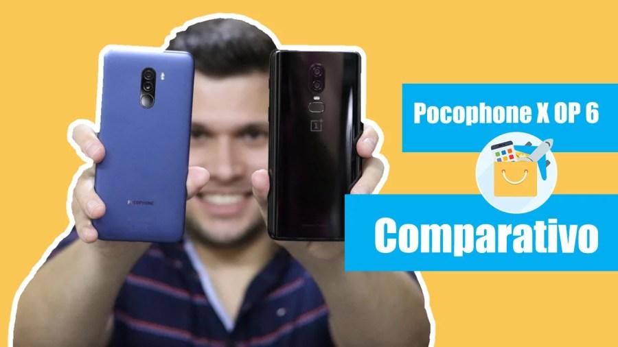 Pocophone F1 vs OnePlus 6
