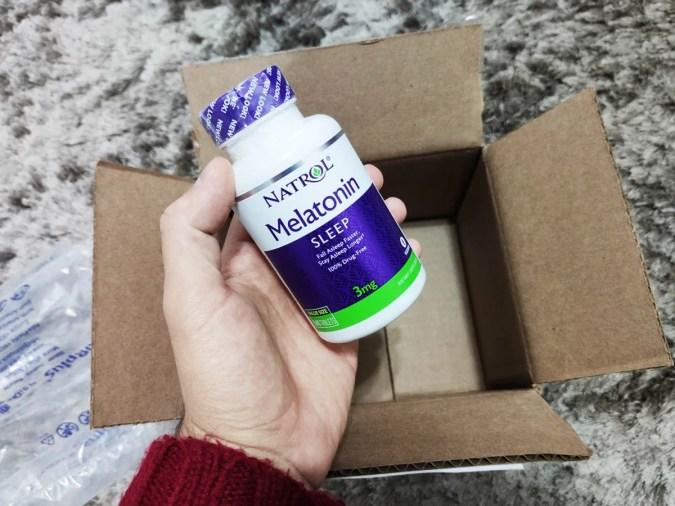 Melatonina comprada na iHerb (product)