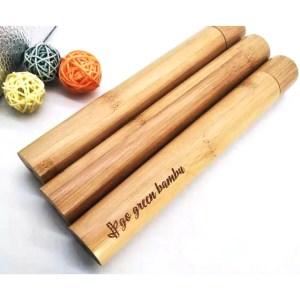 Estuche de bambú Costa Rica Sin Plástico