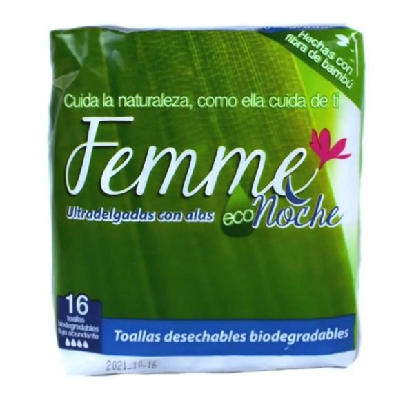 Toalla Femenina Biodegradable