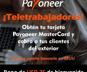 Obten tu Payoneer