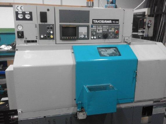 Makinate| Tornio CNC da ripresa con utensili fissi Takisawa TC 20 2
