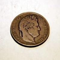 FRANCIA LUIS FELIPE I 5 FRANCO BB 1832 M.B.C