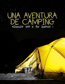 Una aventura de camping - Free storytelling unit for Spanish 1