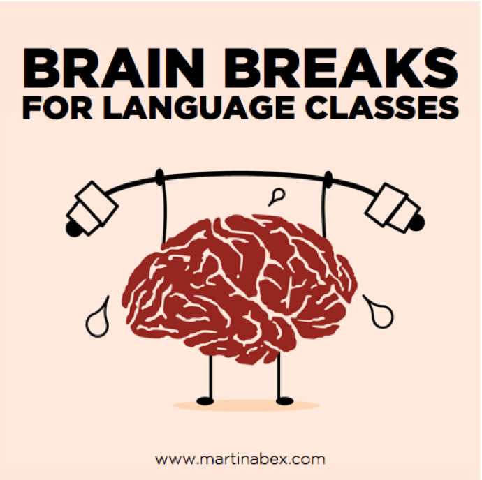 20 brain breaks for world language classes