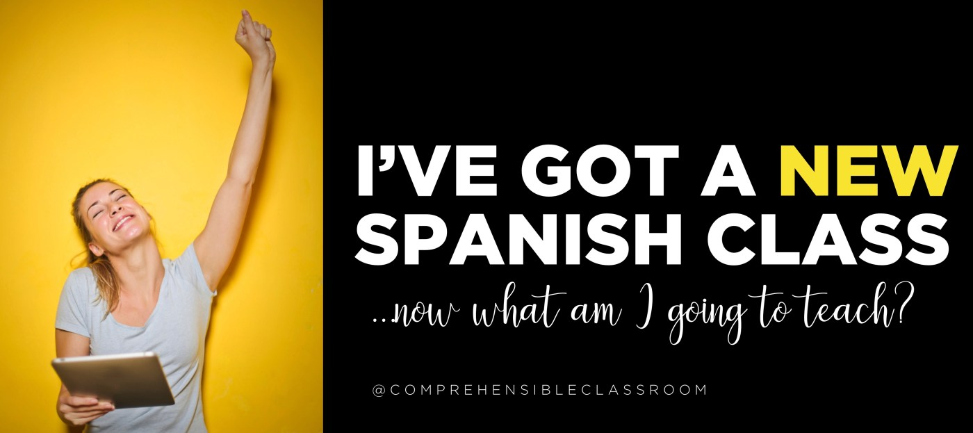 You're about to start teaching a Spanish class that you've never taught before--how do you start planning? Where do you begin?