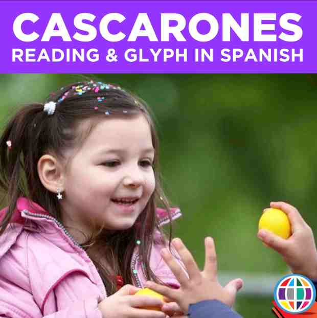 Teach your students about Cascarones in Spanish class with a simple reading and glyph coloring activity! http://bit.ly/cascaronesglyph