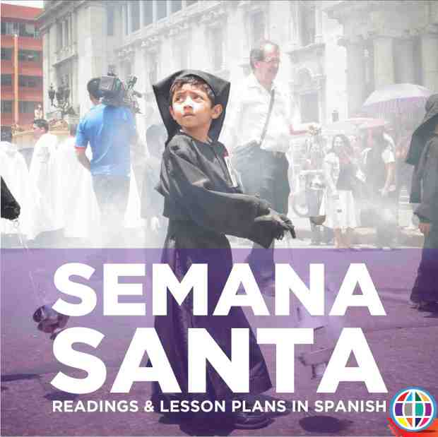 Teach your Spanish language students about Semana Santa in the target language with readings and #authres - step by step lesson plans for Spanish classes!