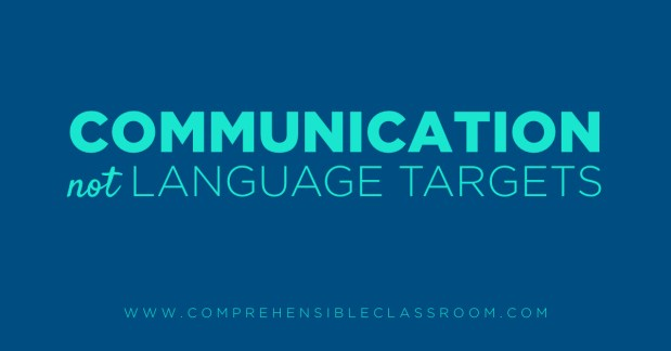 In language classes, the communication is more important than the prescribed words or constructions that are used to connect. 5 Mindset shifts that will prepare language teachers for Comprehension Based™ Instruction - Shared by The Comprehensible Classroom