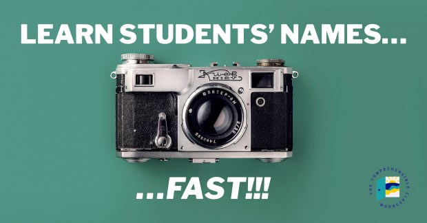 Here's a simple strategy to learn student names FAST. I used it with my 175+ students every year, and it WORKED!