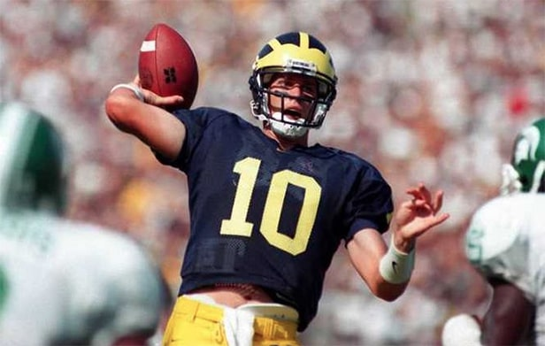 Tom Brady chez les Michigan Wolverines