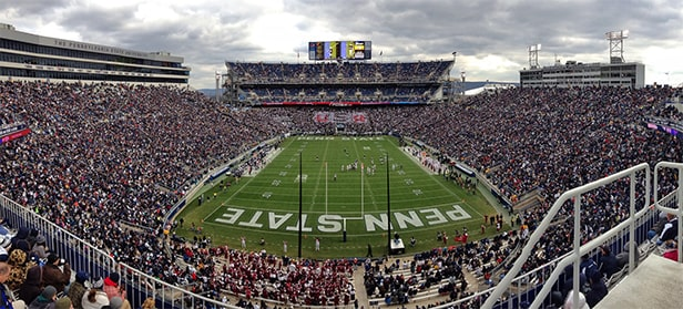 Beaver Stadium - un des 10 plus grands stades de football américain