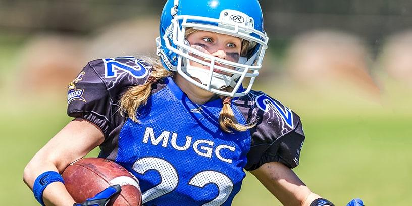 comment jouer au football américain féminin