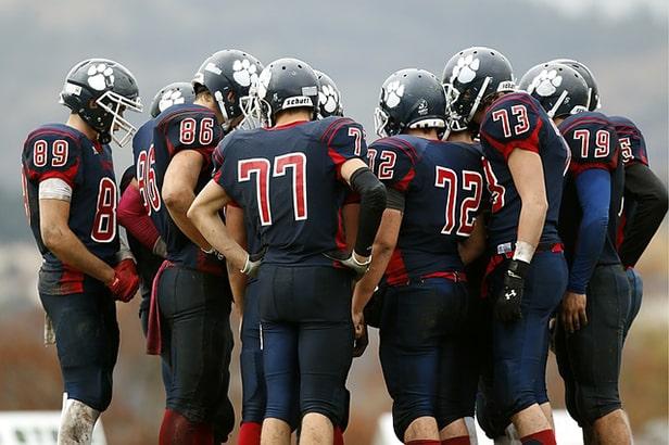 lexique du football americain huddle
