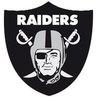 Logo Las Vegas Raiders équipe NFL