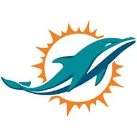 Logo Miami Dolphins équipe NFL