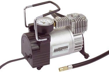 Compresor de aire portátil Mannesmann M01790. Análisis detallado