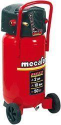 Compresor de aire Mecafer 425090 de 50 litros. Análisis detallado