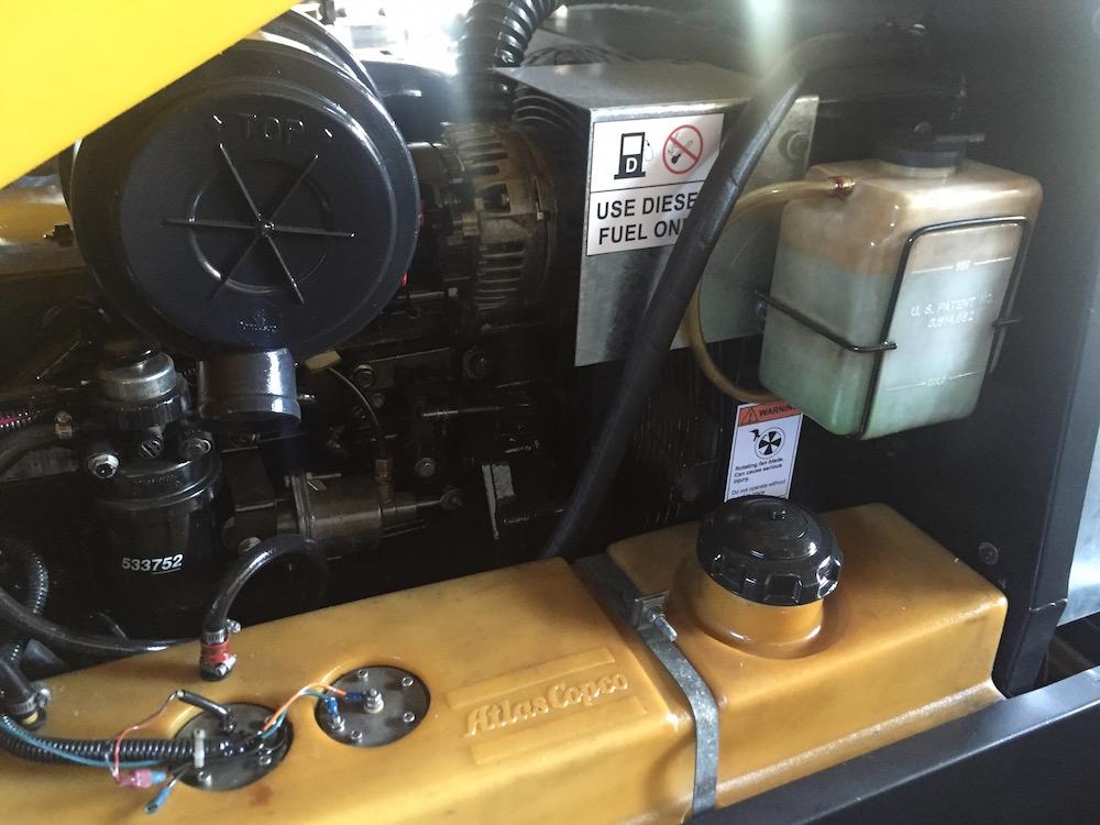 Compresores 185 pcm Atlas copco modelo XAS 97 6
